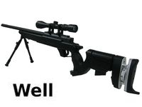 WELL AWM  APS2 Mauser Tactical Sniper Rifle ( BK)
